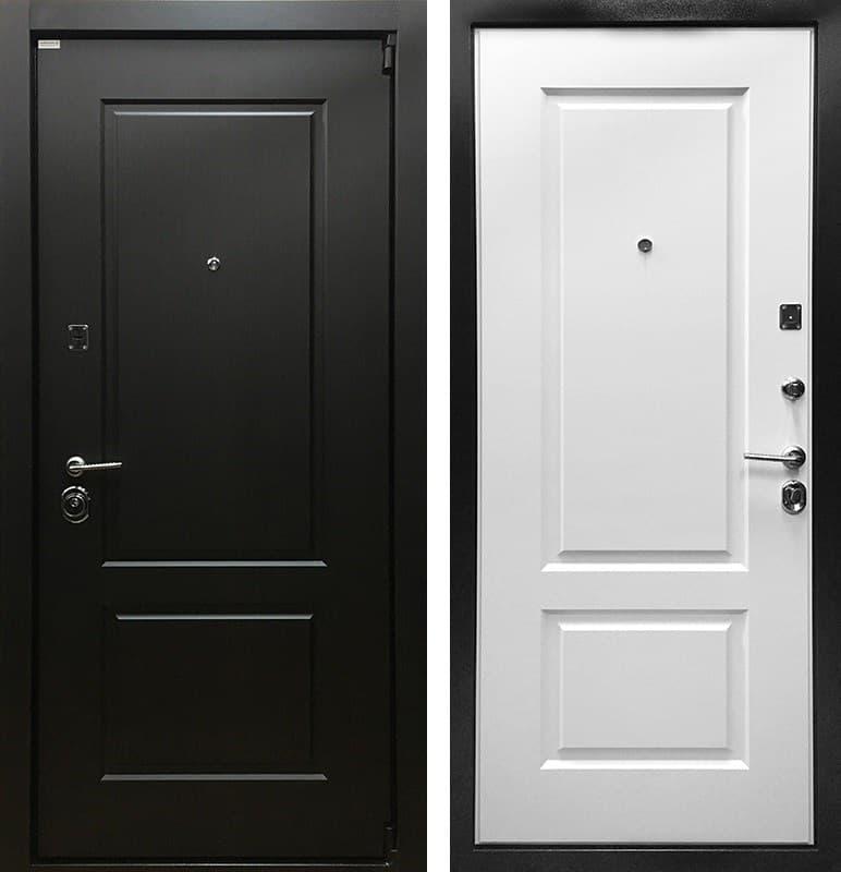 Входная металлическая дверь Ратибор Барьер 3К (Венге / Ясень белый)