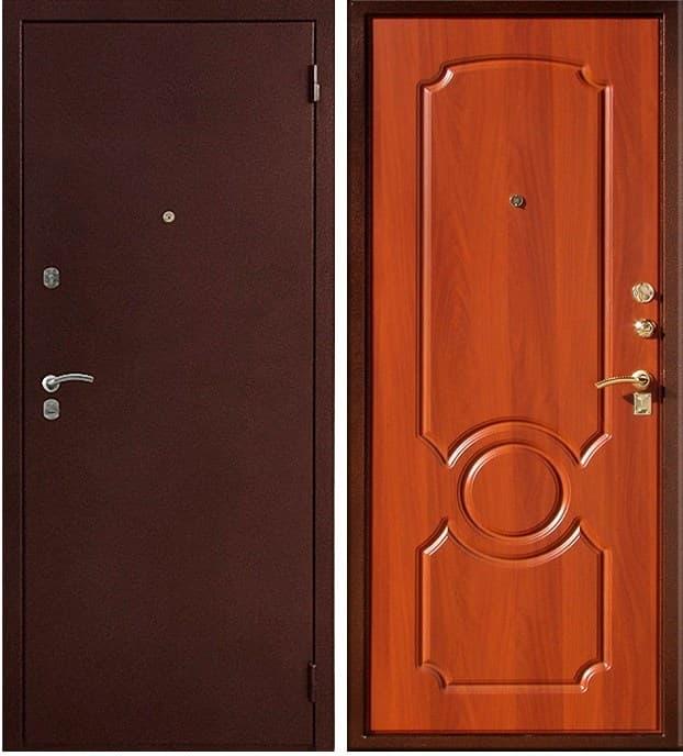 Входная металлическая дверь Юг-03 (Итальянский Орех)