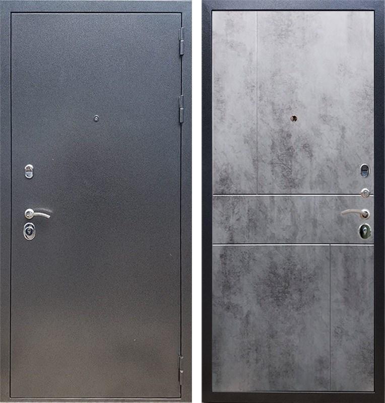 Входная стальная дверь Армада 11 ФЛ-290 (Антик серебро / Бетон тёмный)