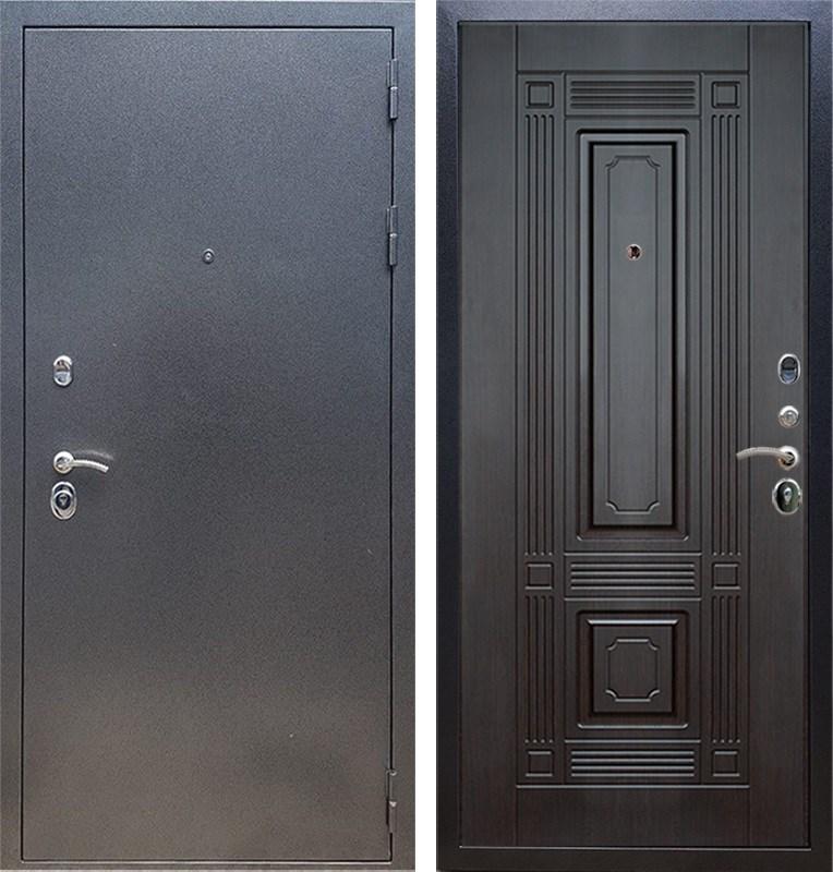 Входная стальная дверь Армада 11 ФЛ-2 (Антик серебро / Венге)