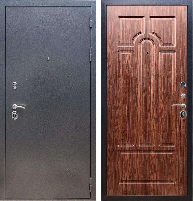 Входная стальная дверь Армада 11 ФЛ-58 (Антик серебро / Берёза морёная)