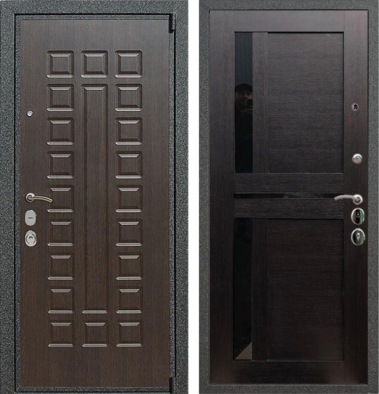 Входная стальная дверь Армада 4А Mottura СБ-18 (Венге / Венге)