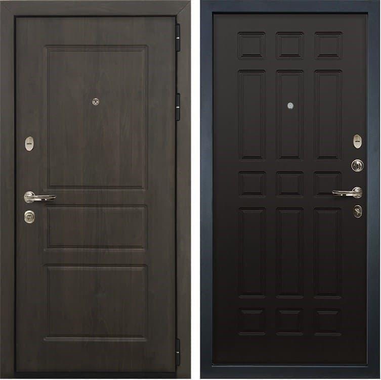 Входная стальная дверь Лекс Сенатор Винорит Венге (панель №29)