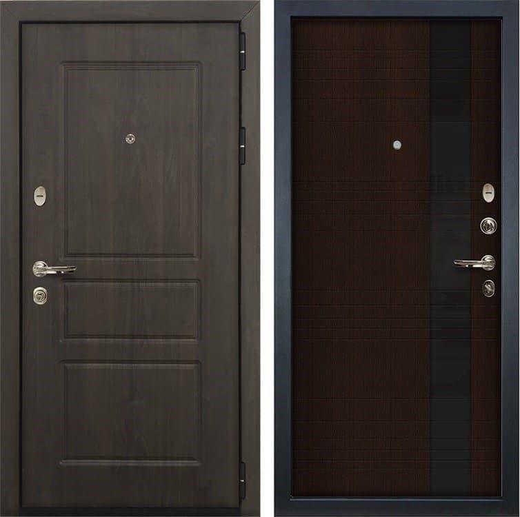 Входная стальная дверь Лекс Сенатор Винорит Новита Венге (панель №53)