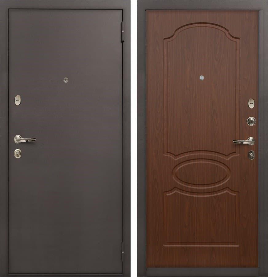 Входная стальная дверь Лекс 1А (№12 Берёза морёная)