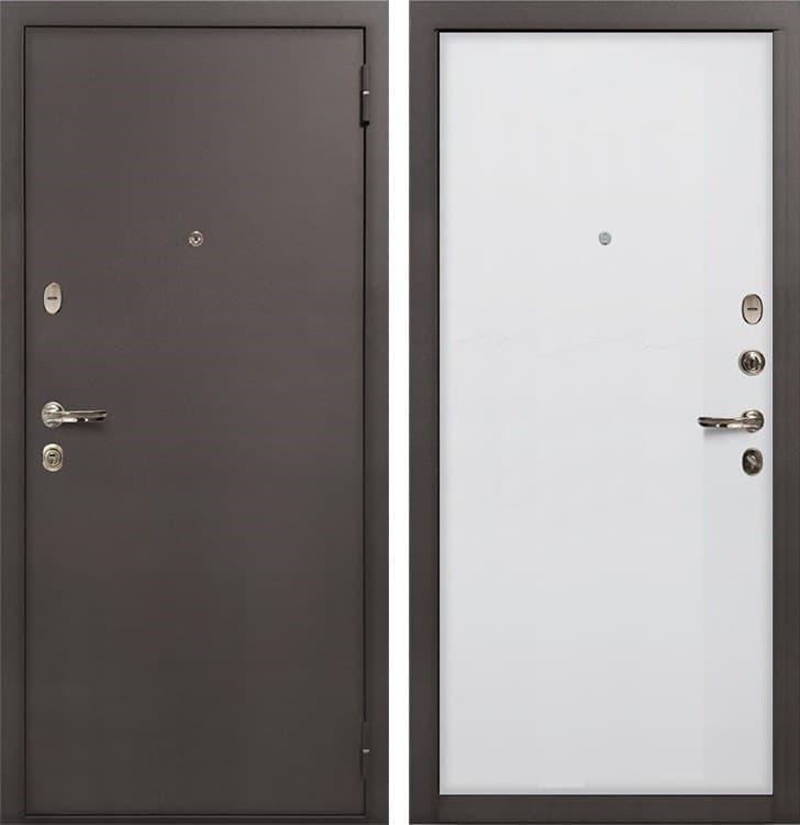 Входная стальная дверь Лекс 1А (№62 Ясень белый)