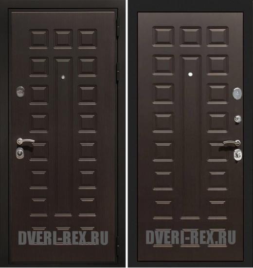 Стальная дверь Рекс Премиум 3К ФЛ-183 (Венге)