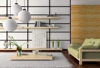 Роль аксессуаров в японском стиле при оформлении помещений