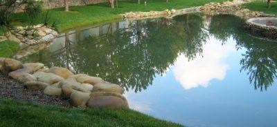 Искусственный водоем у себя на участке — легко и быстро
