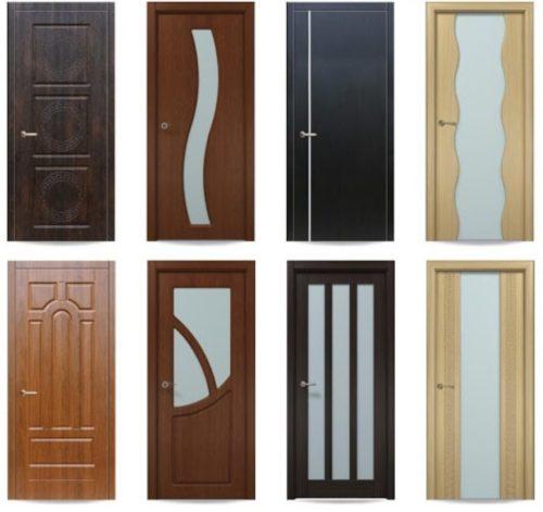 Виды и размеры межкомнатных дверей