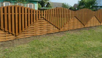 Забор – защита и декор!