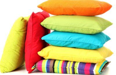 Эффективная чистка подушек