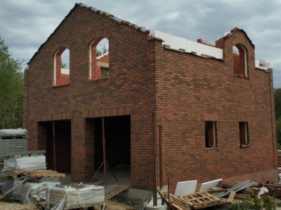 Строительство гаража. Стены