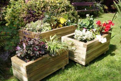 Контейнерный сад в ландшафтном дизайне