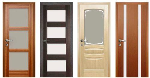 Межкомнатные комбинированные двери