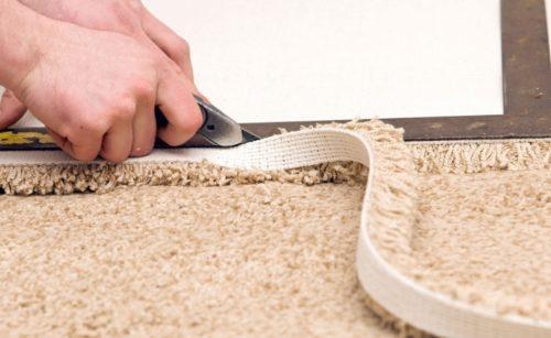 Как укладывать напольные ковровые покрытия