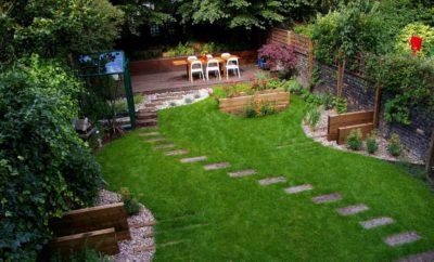 Как визуально увеличить небольшой садовый участок