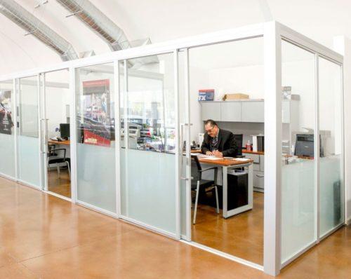 Офисные перегородки — практичное решение современного офиса