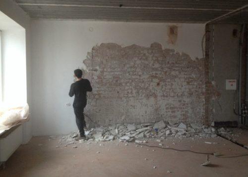 Подготовка стен и потолков к нанесению штукатурки