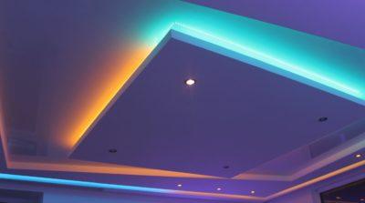 Как сделать подсветку потолка своими руками