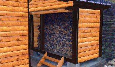 Практические советы по хранению дров