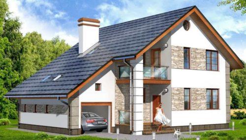 Как выбрать проект дома с гаражом