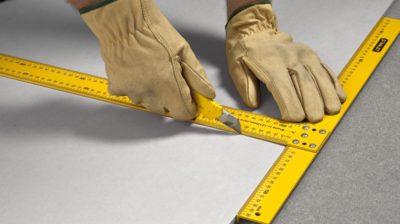 Работа с гипсокартоном: как правильно резать