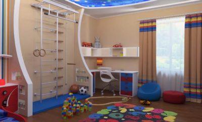 Ремонт в детской комнате. Создаём правильный интерьер