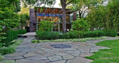 Сады в стиле «модерн» и водные сады