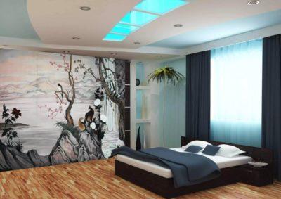 Гостиная или холл в стиле японского минимализма