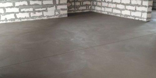 Цементная стяжка пола: подготовка основания