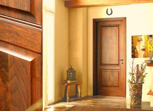 Шпонированые и ламинированые двери — основные характеристики