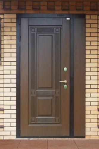 Самостоятельная установка входной металлической двери